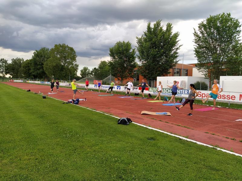 Full Body Workout mit Andreas Kreft, Foto: Katharina Steinbach